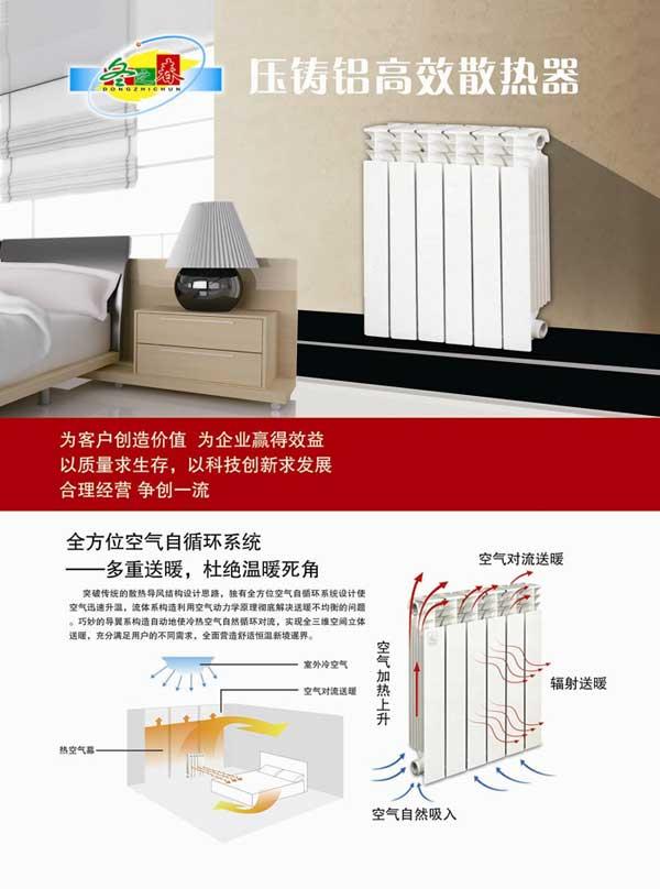 压铸铝高效散热器